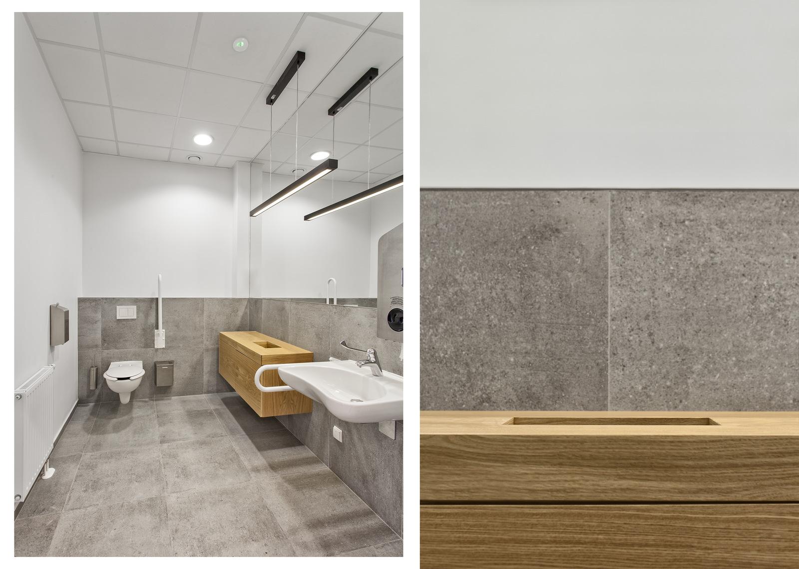 Łazienka - wnętrza firmy POLNET