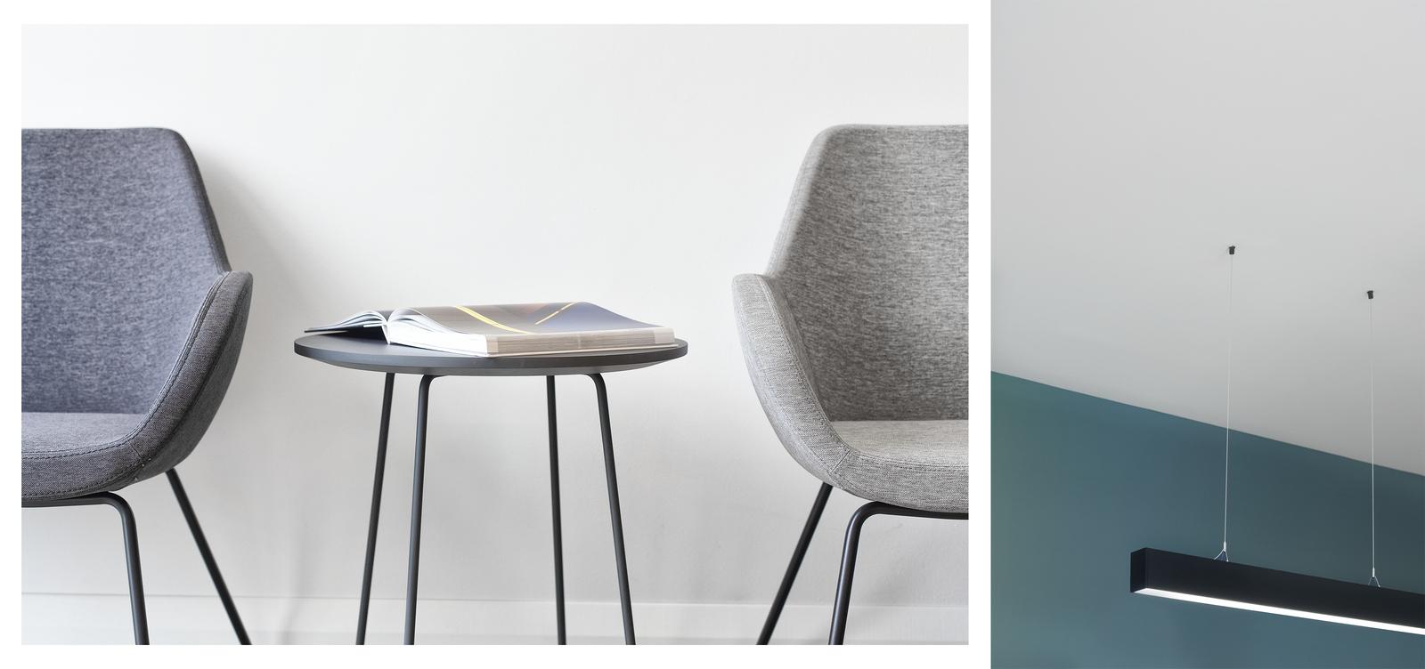 Fotele - wnętrza firmy POLNET