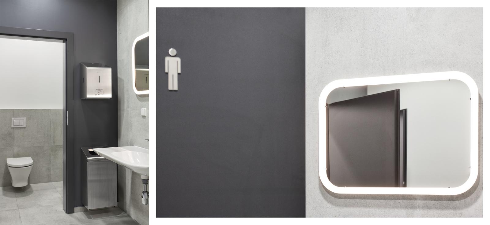 Wnętrza łazienki - firma POLNET