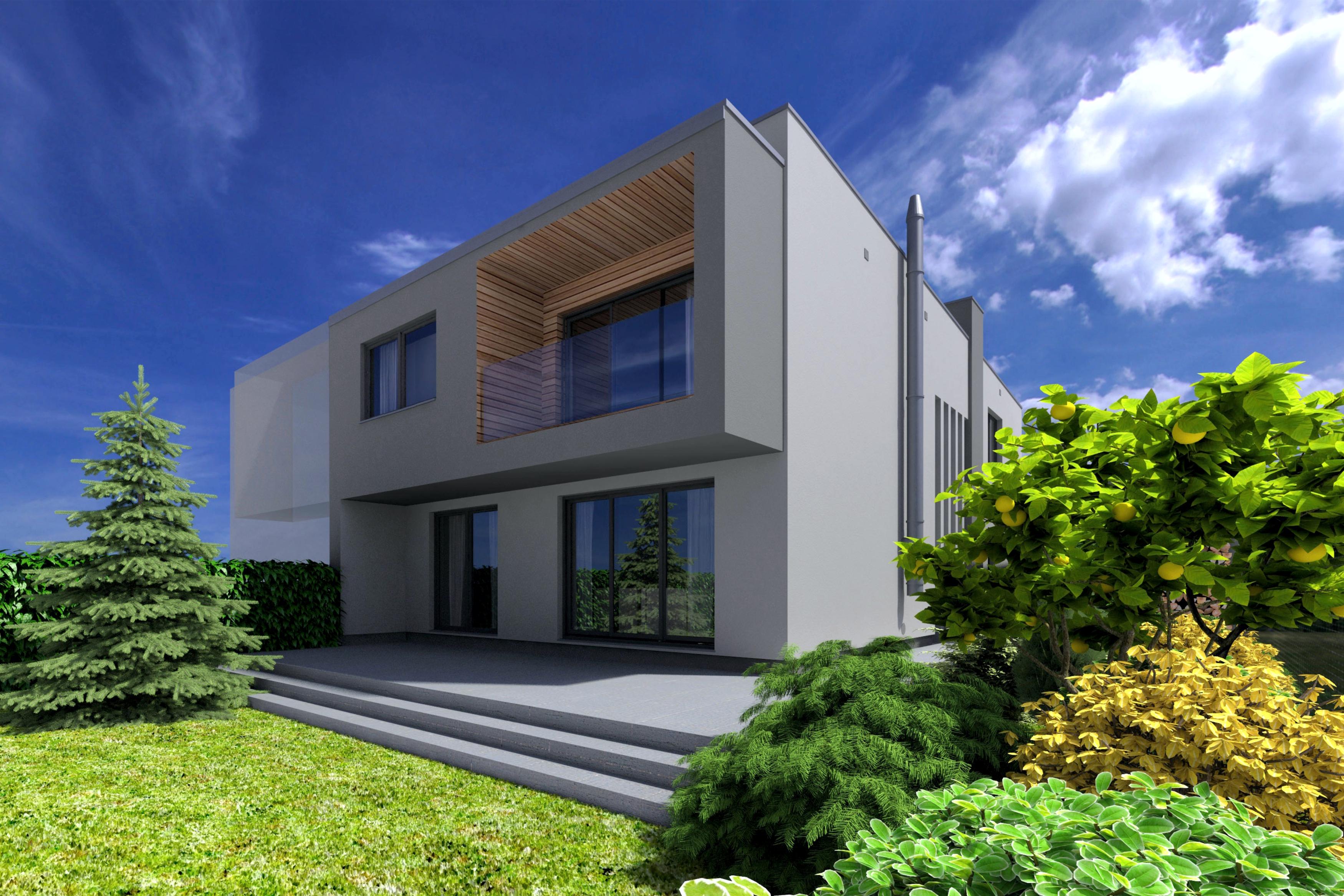 Projekt przebudowy domu jednorodzinnego