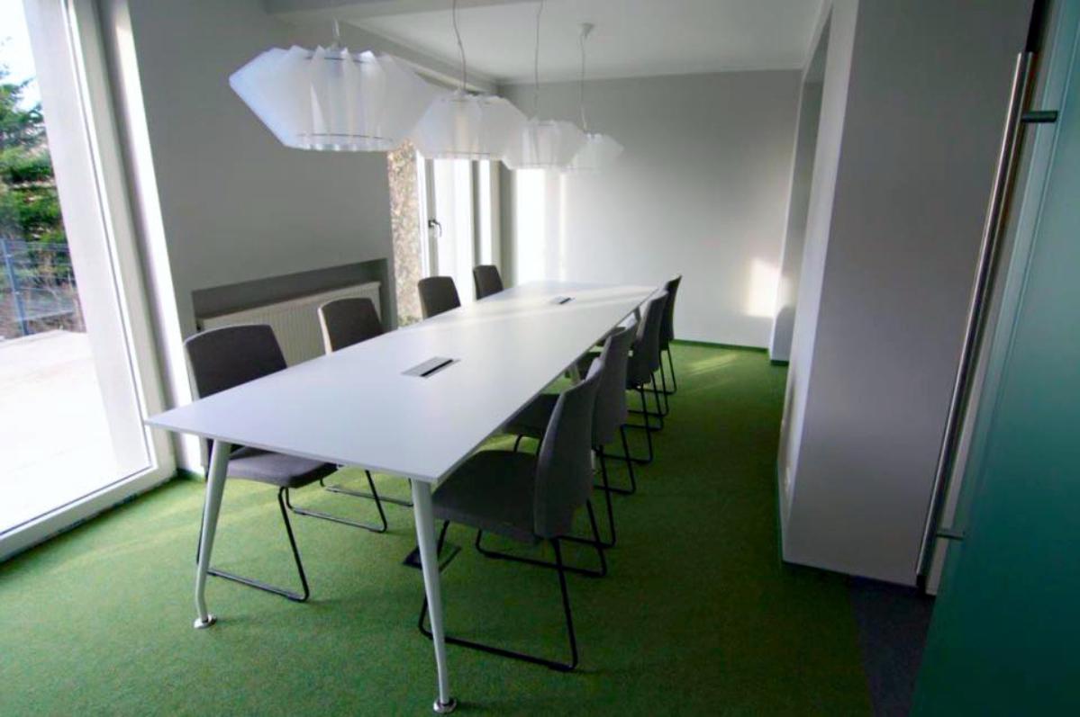 Sala konferencyjna - wnętrze biurowe Eko Projekt