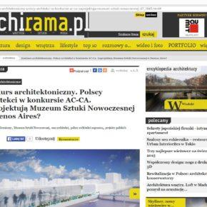Konkurs architektoniczny AC-CA