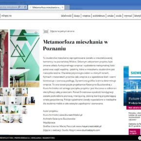 Metamorfoza mieszkania w Poznaniu - Store LABEL