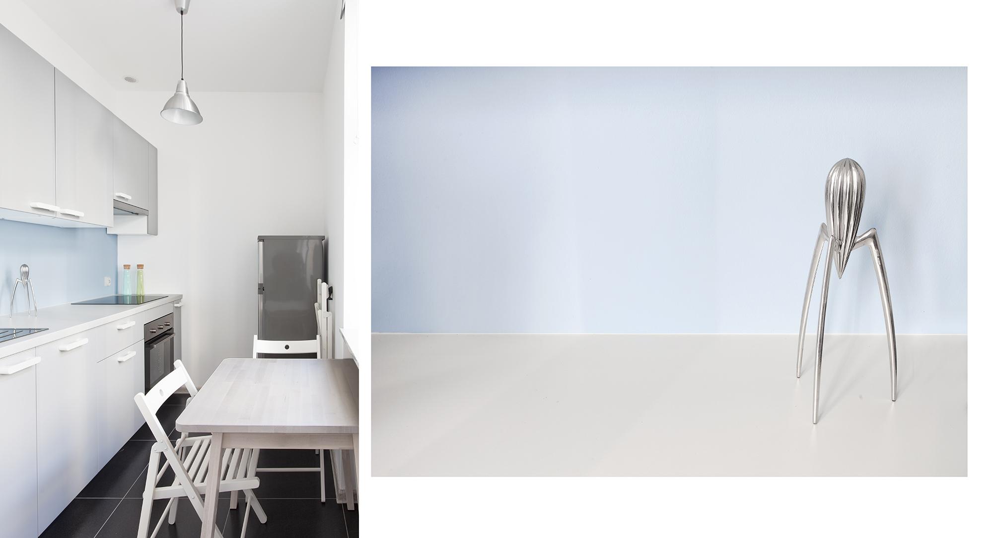 Mieszkanie błękitne - kuchnia