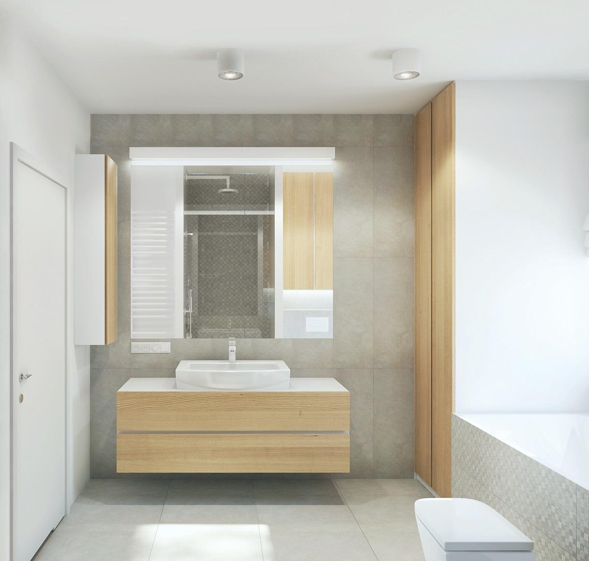 Mieszkanie na Grunwaldzie - łazienka